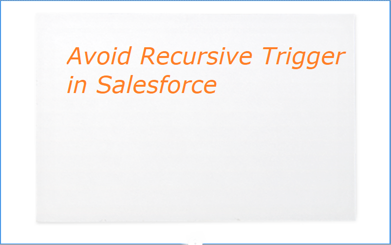Avoid Recursive Trigger in Salesforce and follow best practicse