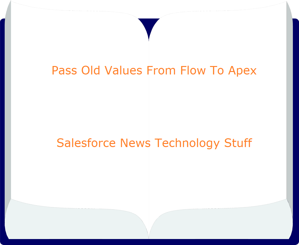 Pass Old Values From Flow To Apex