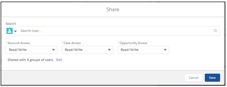 Share Records with Manual Sharing