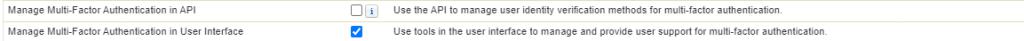 permission set for multi-factor authentication