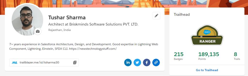 Tushar Sharma Salesforce