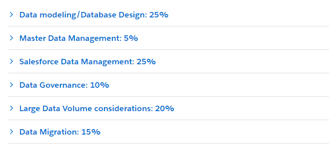 Salesforce Data Architecture and Management Designer Certification Exam Study Guide